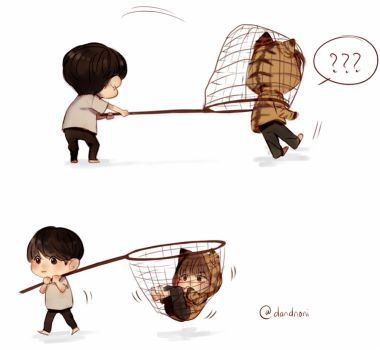How to catch tiger TaeTae ? by dandnoni