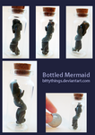 Bottled Monster - Mermaid - SOLD by Bittythings