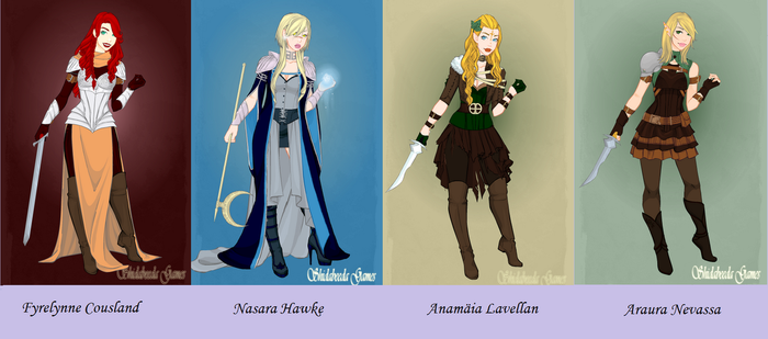 My Ladies of Thedas by Fyrefly12