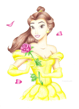 Belle (Beauty and the Beast) by PrettyAlice95