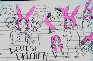 Louise Belcher by RianneGe