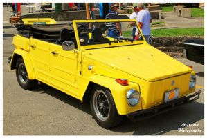 Yellow VW Thing by TheMan268