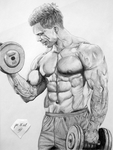 Weight Lifting by pencilir