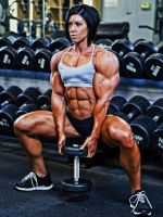 Formidable Female Muscle by Turbo99