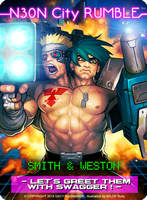 N30N City Rumble -Smith and Weston by Darkdux