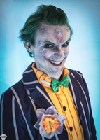 Joker (Arkham City) by ThePuddins
