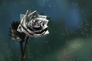 duct tape rose by dialicious
