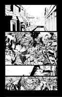 Annihilation Conquest inks by IanDSharman