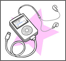 Ubunchu Music Player Inking by doctormo