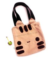 Chocolate Cat Tote by CosmiCosmos