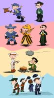 Tiny Wild Wild Rogues by The-French-Belphegor
