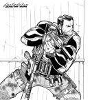 Sneaky Punisher Inked by farlydatau