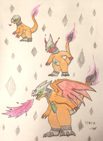 PKMNation:: Spoopy Dragon Evolve by Dianamond
