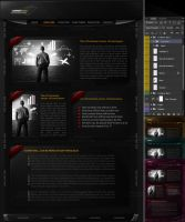 WEB TEMPLATE custom color by taaraachan