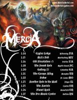 Mercia Tour Date Poster by KimNichole