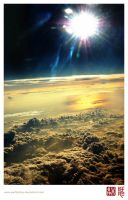 Glorious View in The Sky by perfectSky