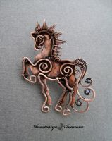 brooch horse by nastya-iv83