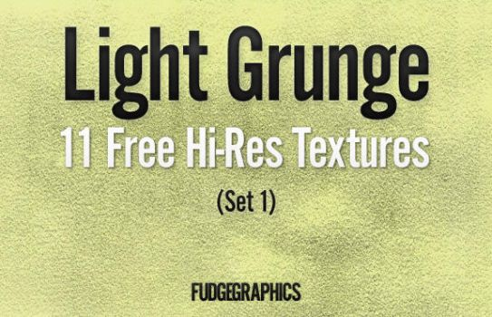 Light Grunge Textures Set 1 by fudgegraphics