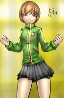 Chie - Sketch 73 by Fenril-Huayra