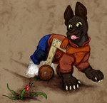 Taak: Bug Slayer by Leonca