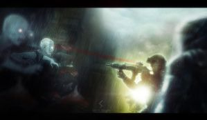 Zombie attack by Secr3tDesign