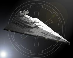 Star Destroyer by Kwindu