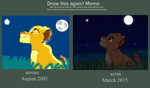 The Brightest Star_Before and After Meme by SolitaryGrayWolf