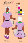Gretel's Human Reference Sheet 2015 by TheDragonInTheCenter