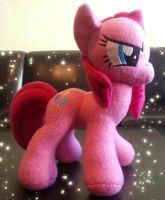 Pinkamena Diane Pie Plush by MintyStitch