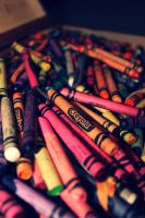 Crayola. Every artist's beginning. by hopefortommorow