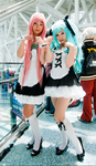 MikuXLuka Maid Cosplay: Nyan by JoyceWL