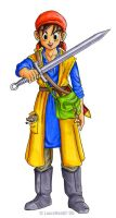 Eight - Dragon Quest VIII by lauraneato