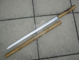 Sword in a bamboo stick by Nyckel5