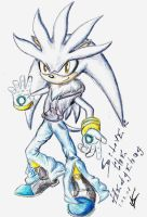 Silver the Hedgehog by Ehidna