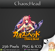 Chaos Head - Anime Folder Icon by lSiNl