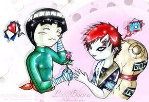 +:A flower for you:+ by Gaara-x-Lee-Club