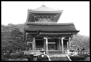Japanese Temple by stryda429