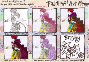 Traditional Art Meme FILLED by Skadi-Skadi-No-Mi