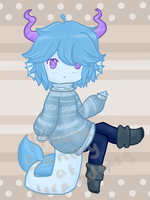Aquatic - Chibi Adopt - 1 - Auction by HerpAdopts