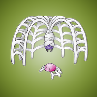 Spiderweb Fakemon by FakeMakeT