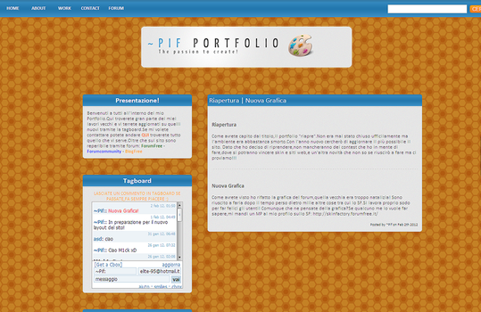 New Graphic Layout by Pif8