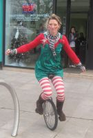Unicycle by DigiPhotography