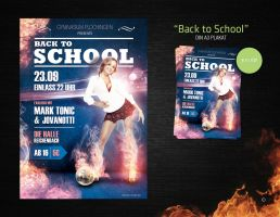Back to School Flyer - Sold by Andasolo