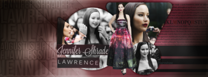 Jennifer Lawrence Facebook Cover by flawlessjlaw