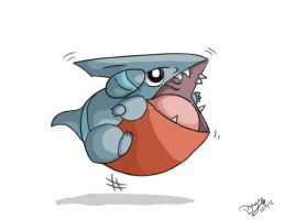 Would You Want A Gible by WacomDragonArtist