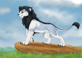 Twitcher Snow Lion by SilentRavyn