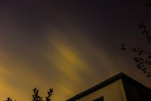 Night Sky in my Backyard by akib99