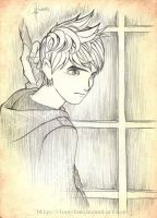 Jack Frost-Sketch-2 by RfourRfive