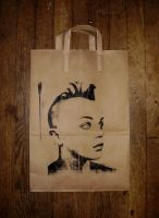 paper bag by louuu