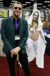 Gencon 2014 Emma Frost and Riddler by SirKirkules